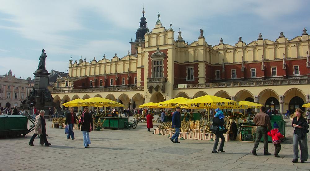 The Sukiennice, Krakow