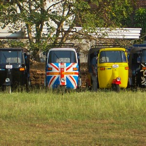 Auto-Rickshaws, Ready And Waiting