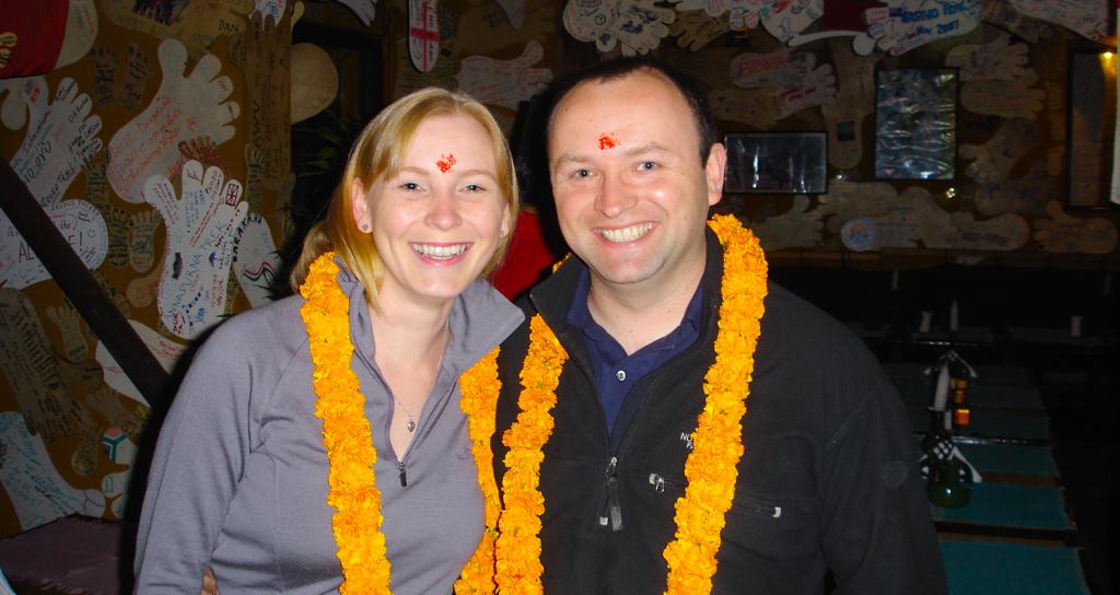 Arrived Kathmandu