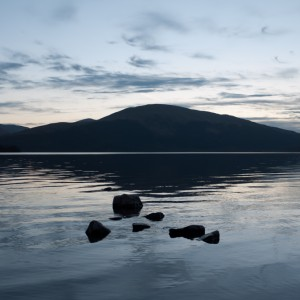 Dusk On Loch Lomond