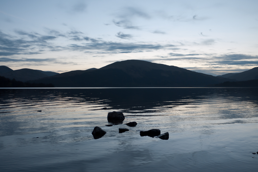 Dusk on Loch Lomond #GetOutThere