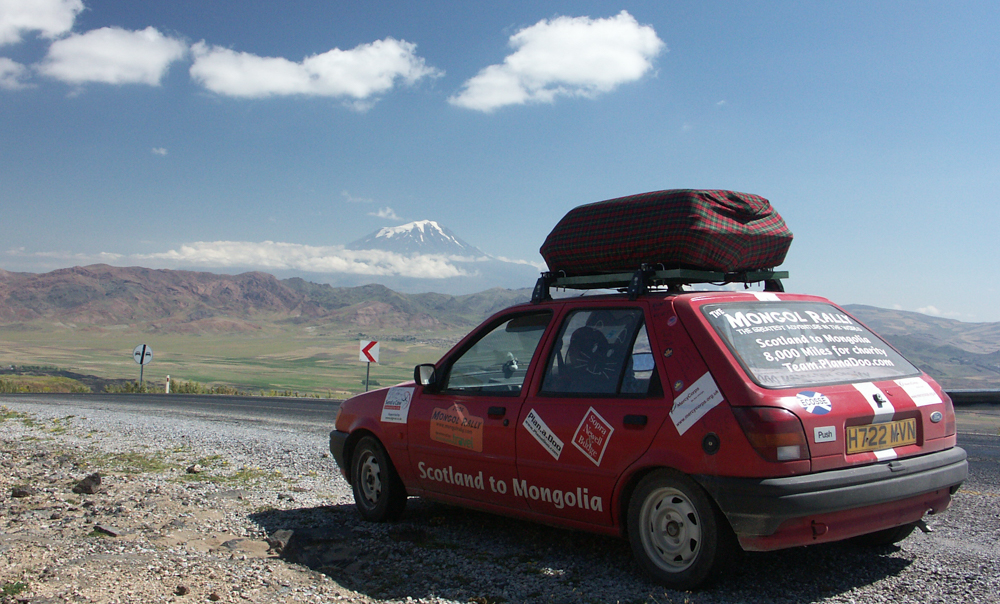 Views of Mt Ararat