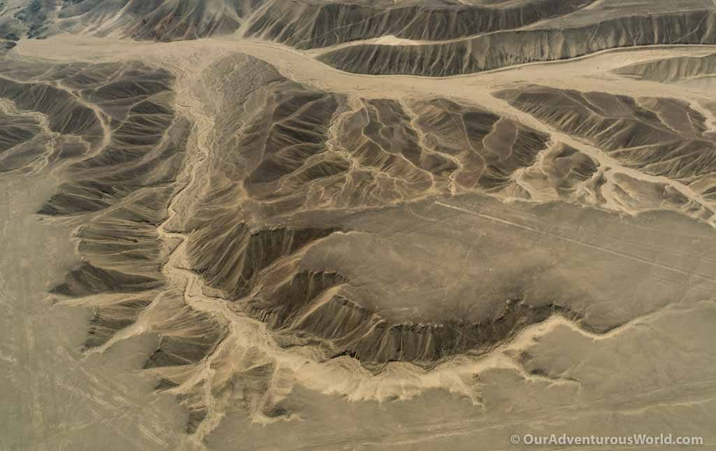 The landscape of Nazca