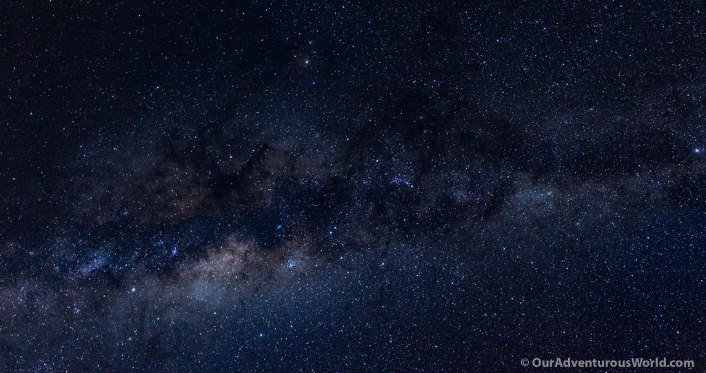 The Milky Way from Yumani village