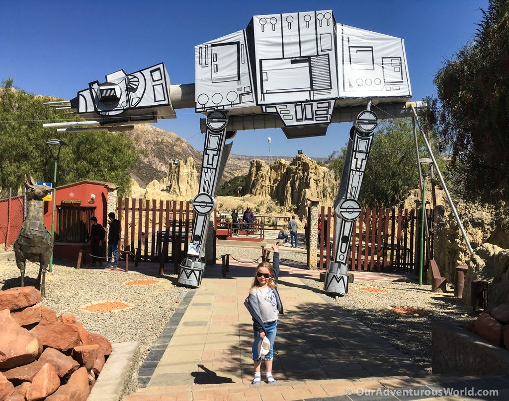 Star Wars AT-AT Walker guarding Moon Valley